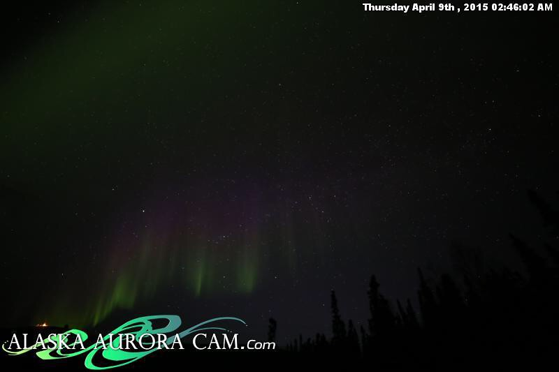 April 8th -Alaska Aurora Cam