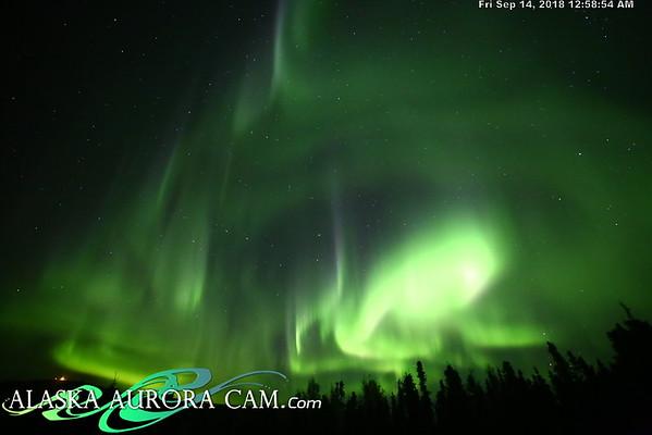 September 13th - Alaska Aurora Cam
