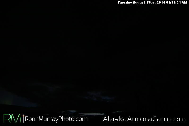 August 18th - Alaska Aurora Cam