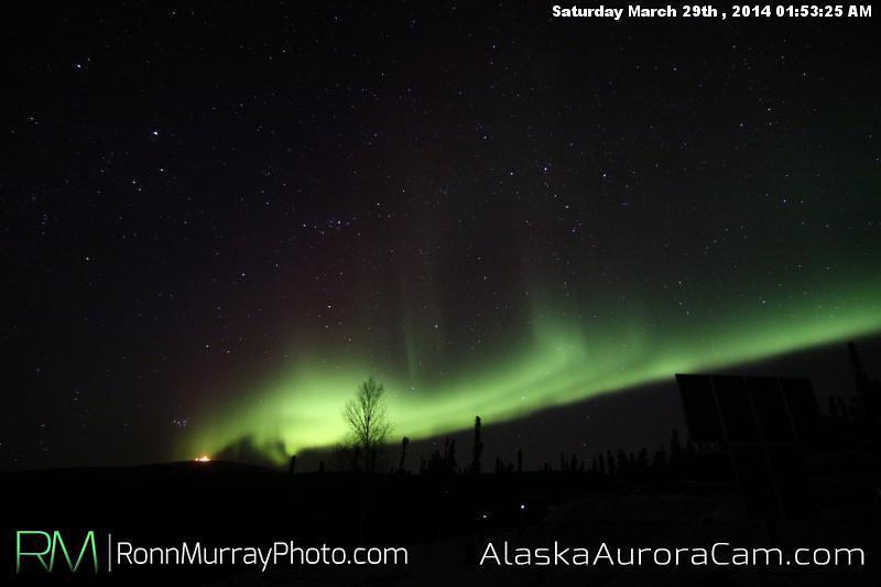 March 29th - Alaska Aurora Cam