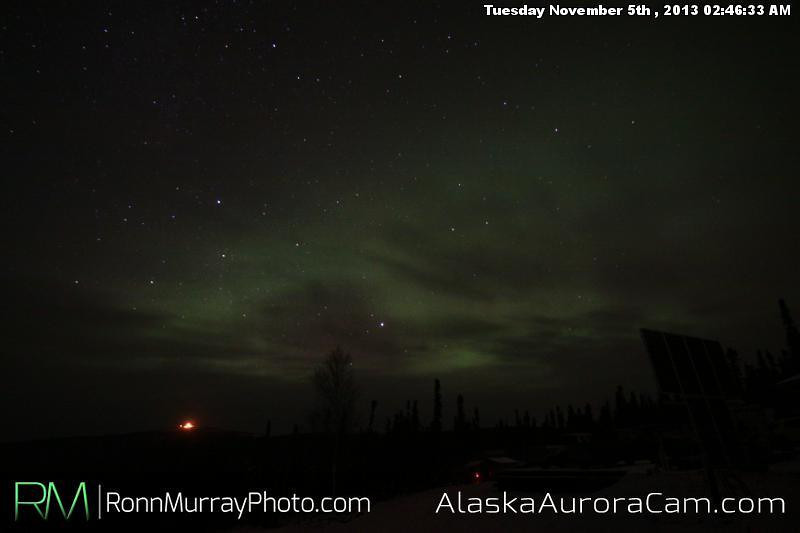Calm Before the Storm - Nov 5th, Alaska Aurora Cam