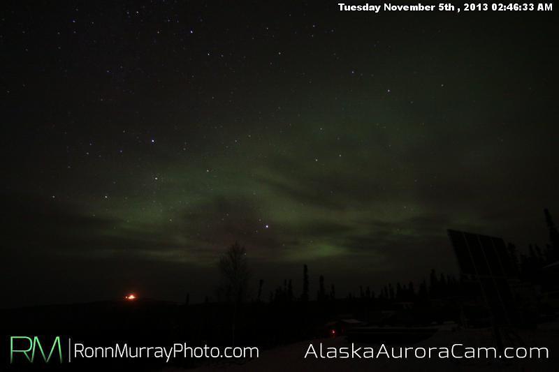 Calm Before the Storm - Nov 5th, Alaska Aurora Cam