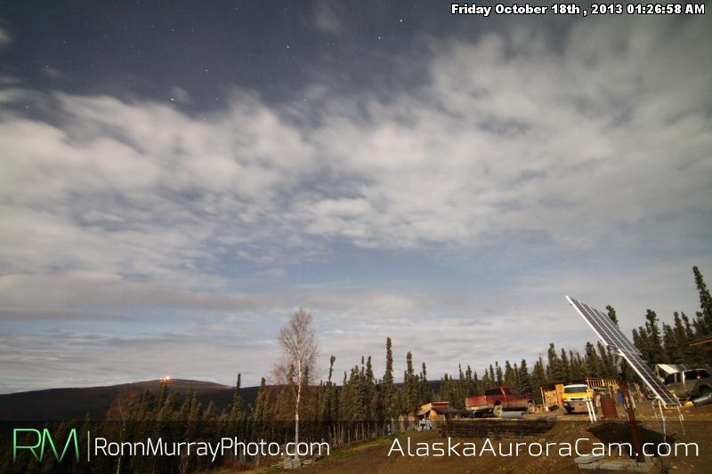 Moonlight Sonata - October 18th Alaska Aurora Camera