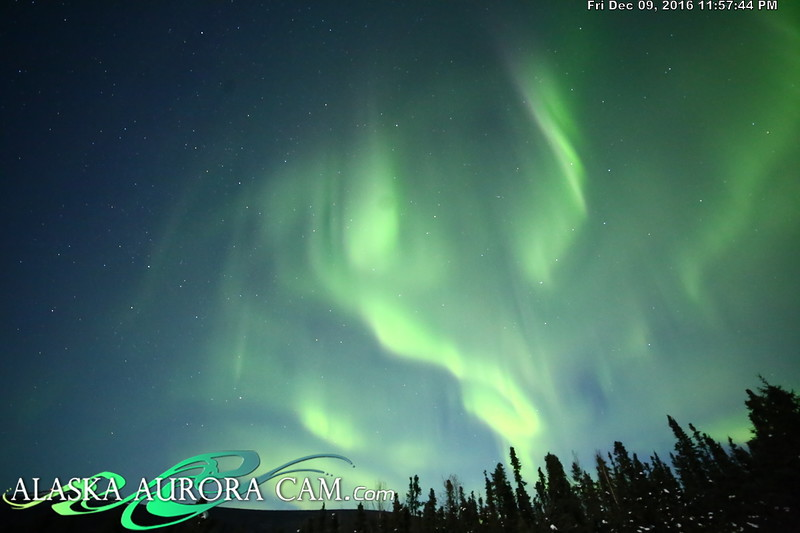 December 9th  - Alaska Aurora Cam
