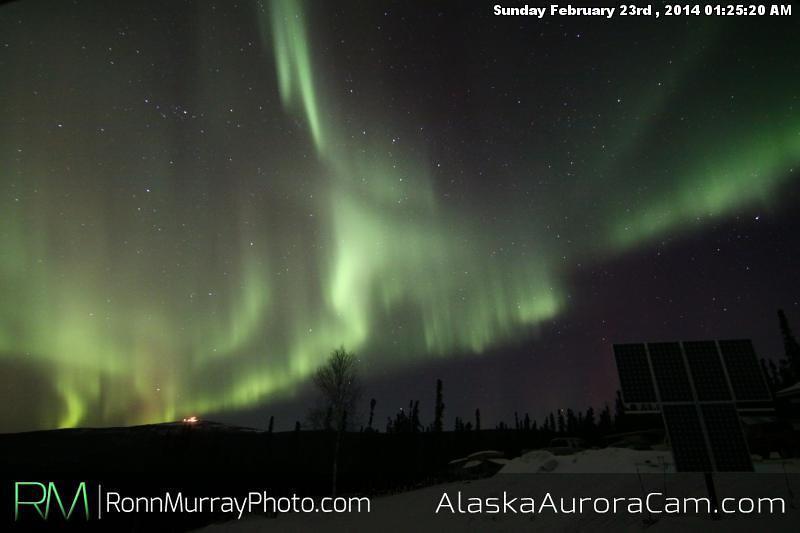 February 23rd - Alaska Aurora Cam