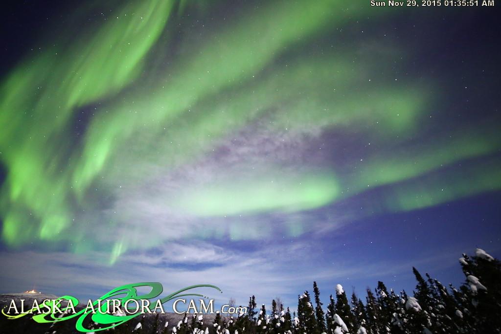 November 28th - Alaska Aurora Cam