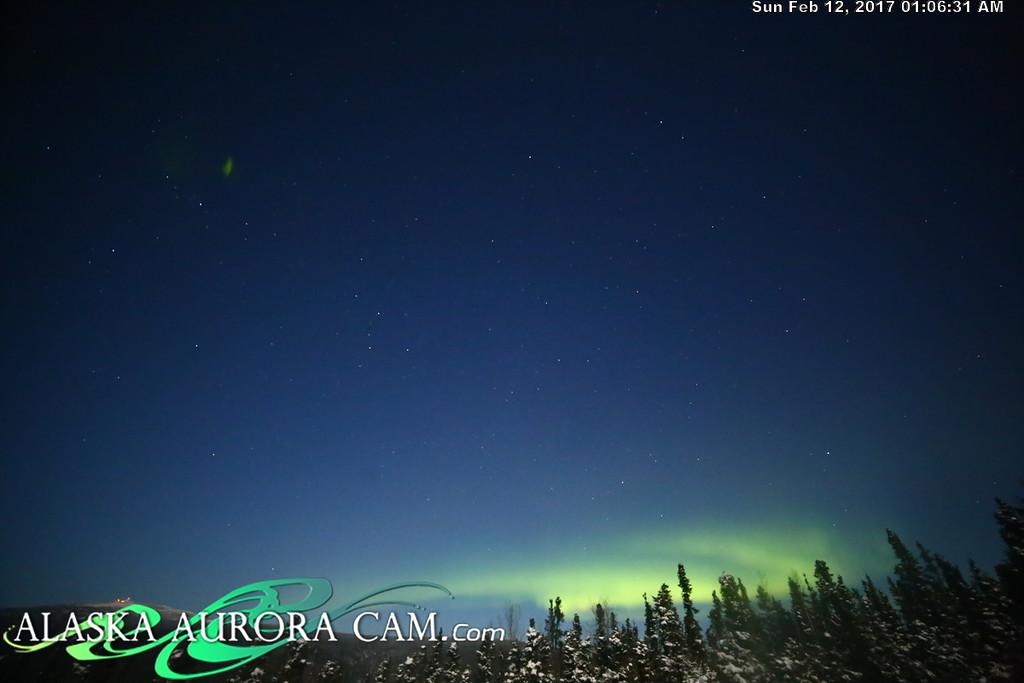 February 11th  - Alaska Aurora Cam