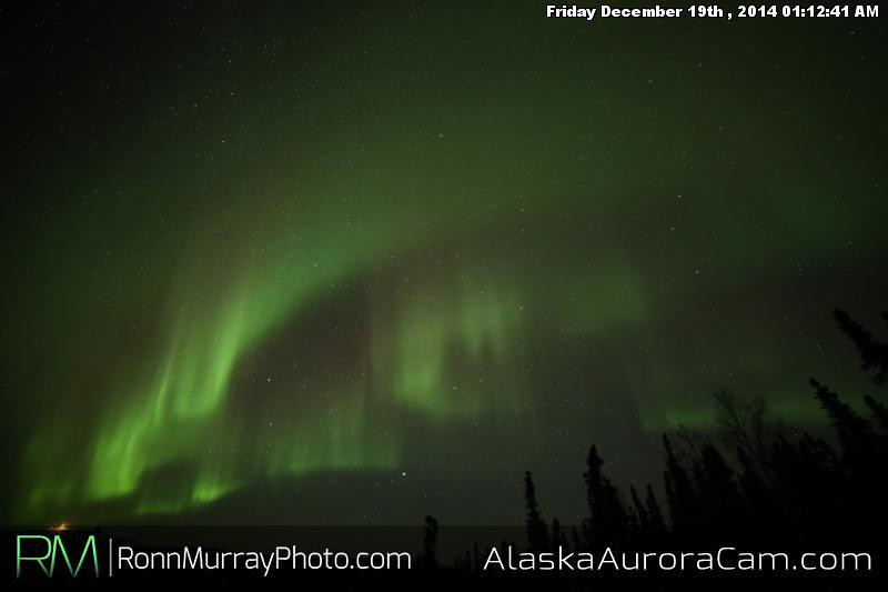 December 18th - Alaska Aurora Cam