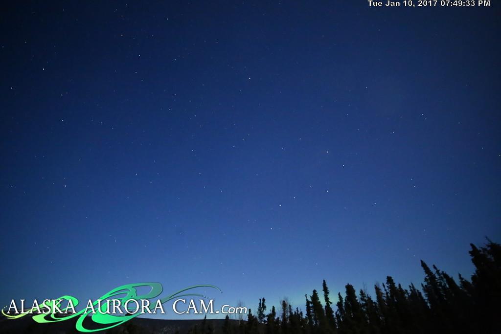January 10th  - Alaska Aurora Cam