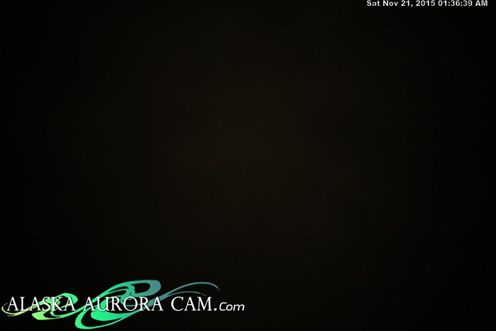 November 20th - Alaska Aurora Cam