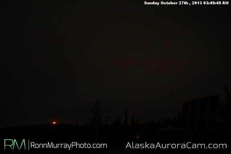 Uneventful Evening - Oct. 27th, Alaska Aurora Cam