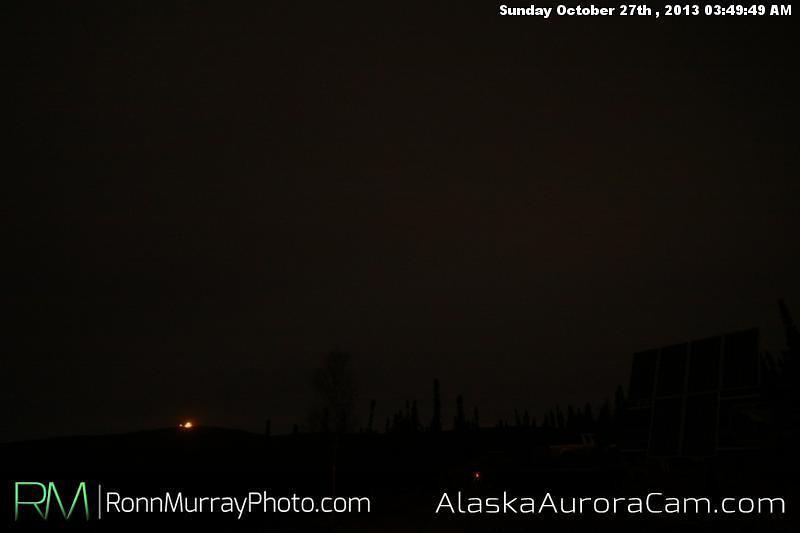 Uneventful Evening - Oct. 27th, Alaska Aurora Cam