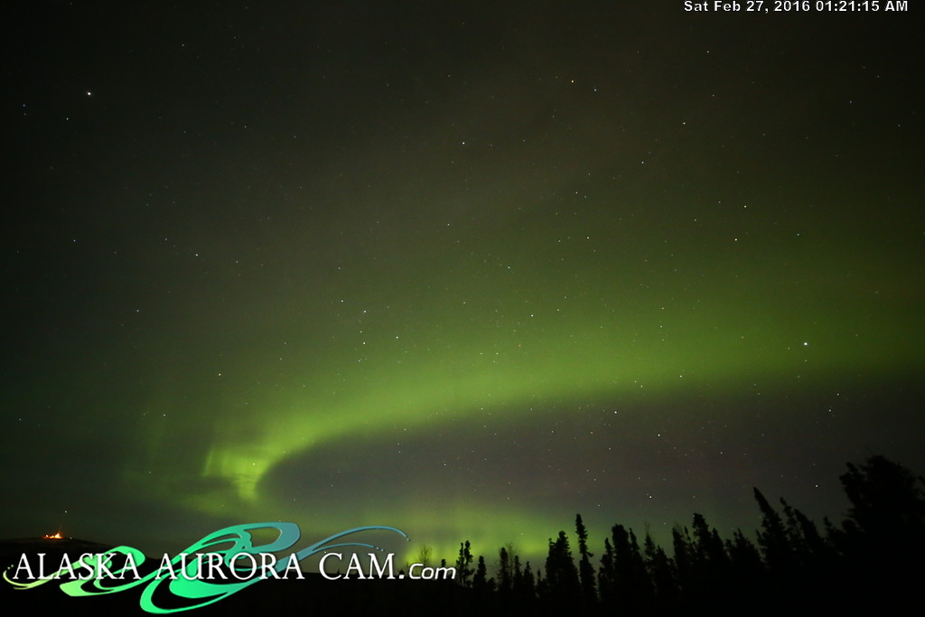 February 26th - Alaska Aurora Cam