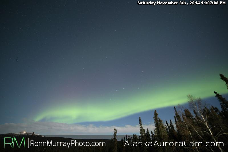 November 8th - Alaska Aurora Cam