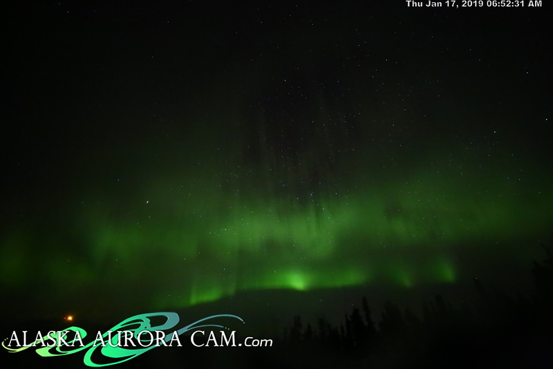 January 16th- Alaska Aurora Cam