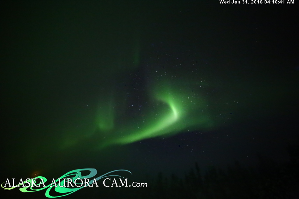 January 30th - Alaska Aurora Cam
