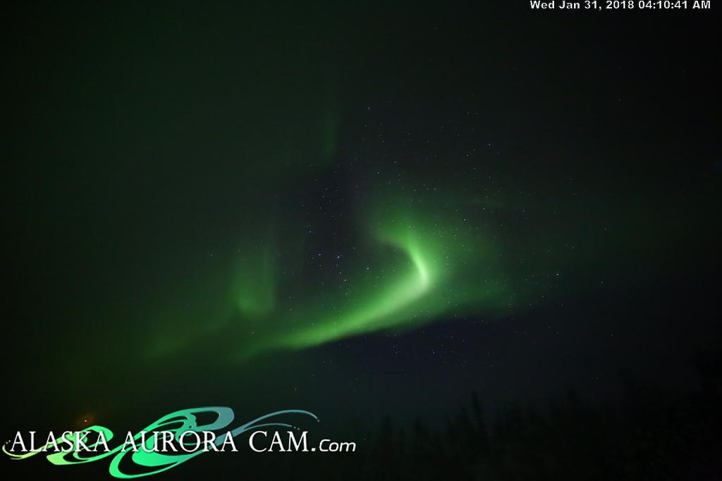January 30th - Alaska Aurora Cam