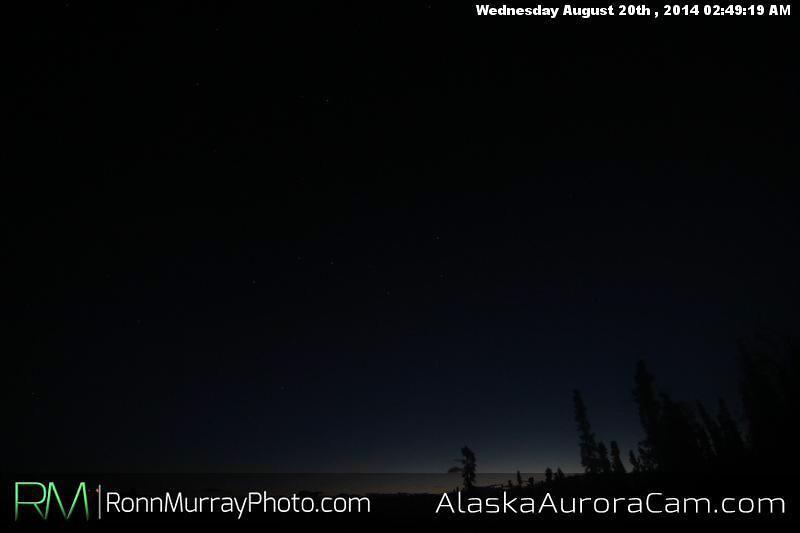 August 19th - Alaska Aurora Cam