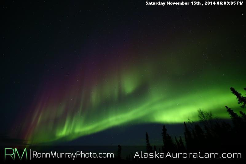 November 15th - Alaska Aurora Cam