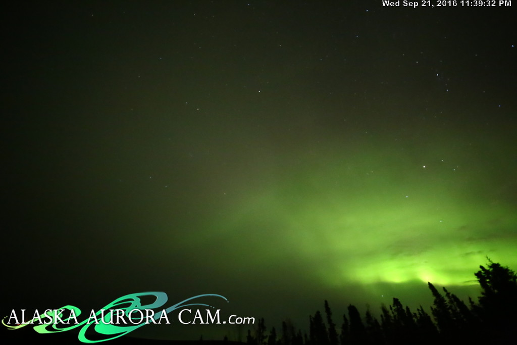 September 21st - Alaska Aurora Cam
