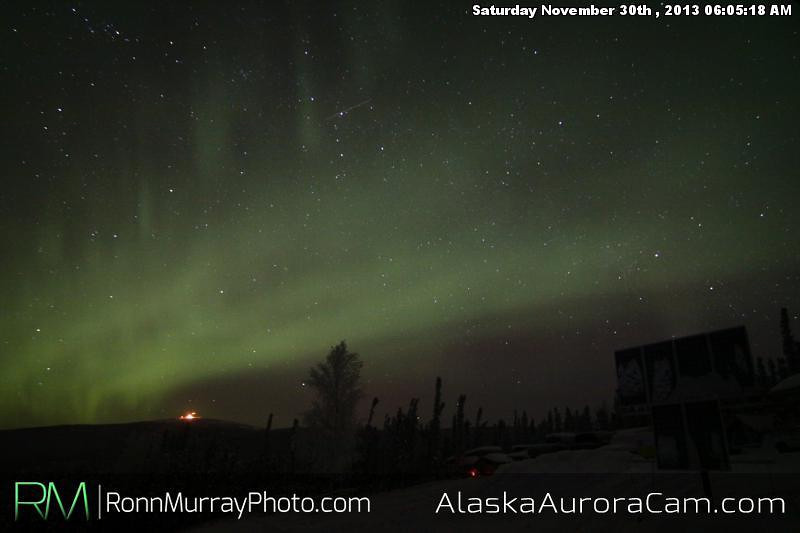 Late Night Show - Nov 30th, Alaska Aurora Cam