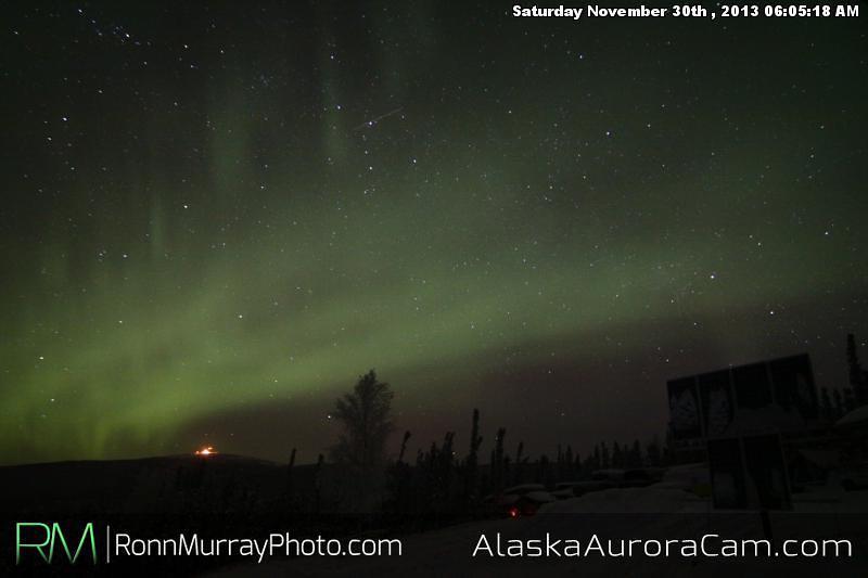 Late Night Show - Nov 30th, Alaska Aurora Cam