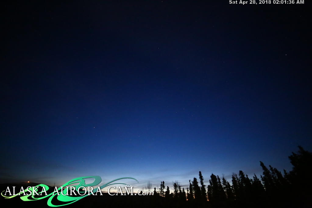 April  27th  - Alaska Aurora Cam
