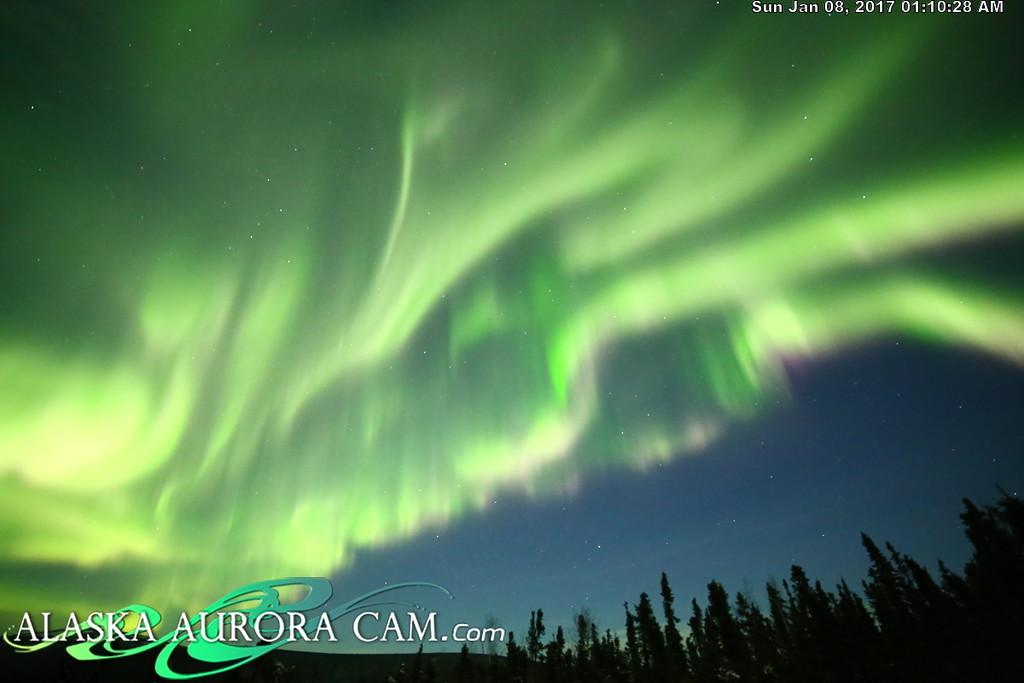 January 7th  - Alaska Aurora Cam