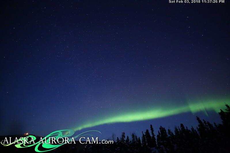 February 3rd - Alaska Aurora Cam