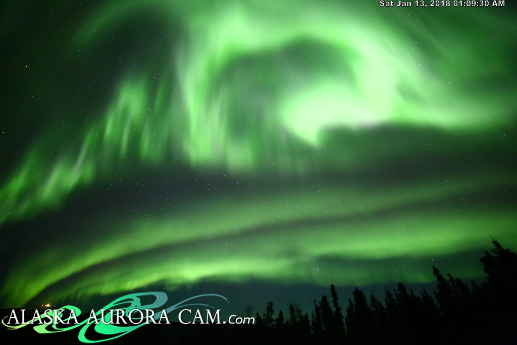 January 12th - Alaska Aurora Cam