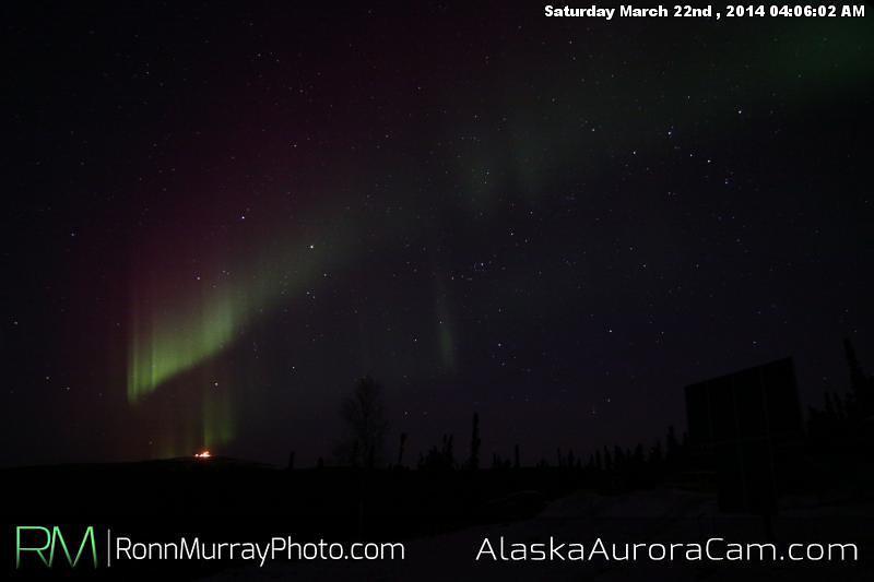 March 22nd - Alaska Aurora Cam