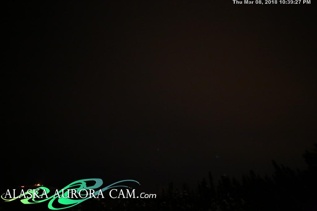 March 8th  - Alaska Aurora Cam
