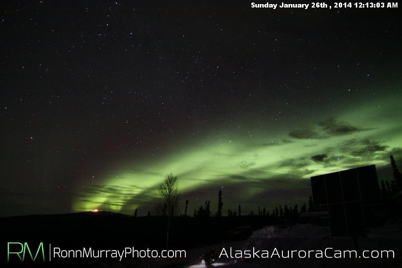 Sirius Fun! - Jan 26th, Alaska Aurora Cam