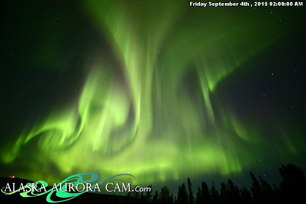 September 3rd - Alaska Aurora Cam