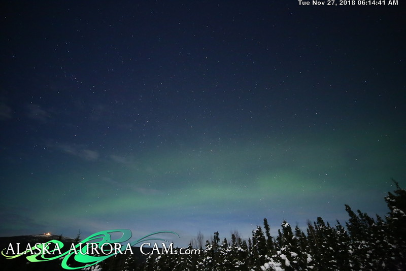 November 26th - Alaska Aurora Cam
