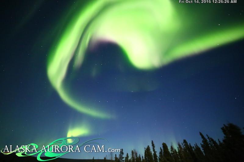 October 13th - Alaska Aurora Cam