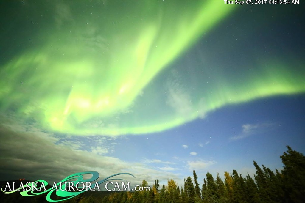 September 6th - Alaska Aurora Cam