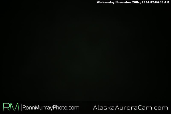 November 25th - Alaska Aurora Cam