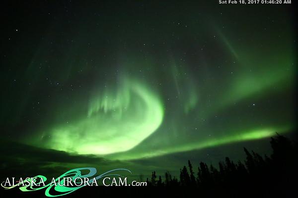 February 17th  - Alaska Aurora Cam