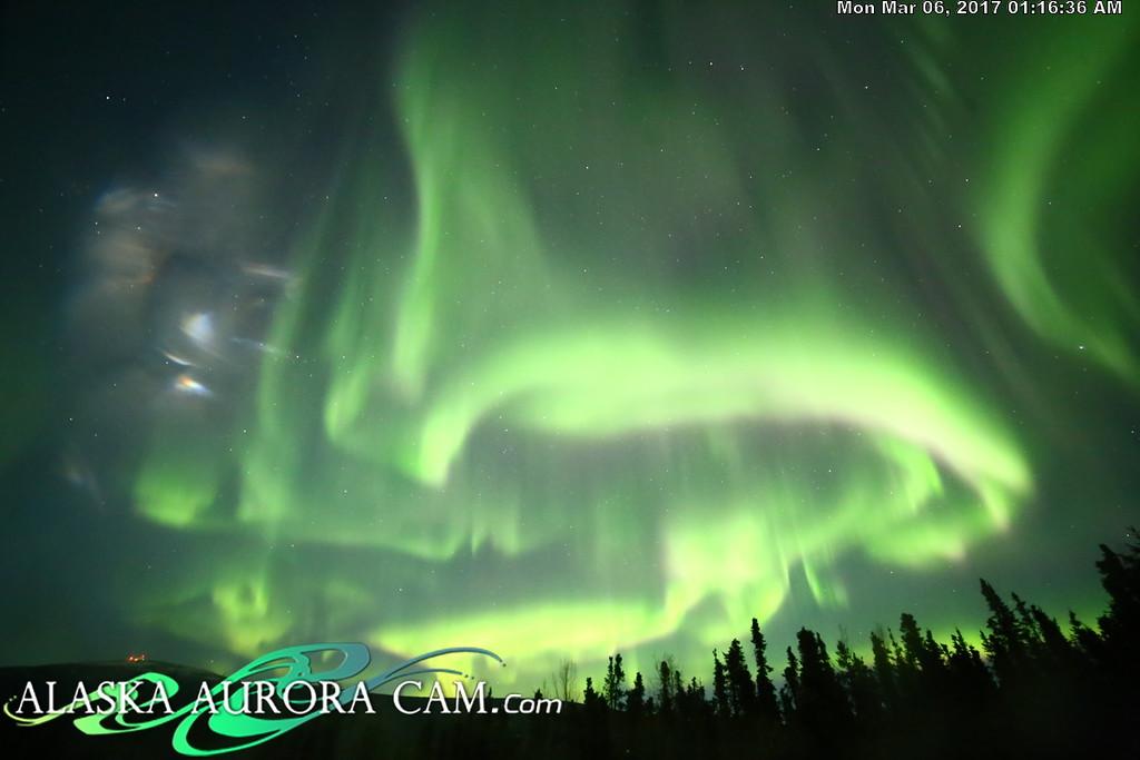 March 5th  - Alaska Aurora Cam