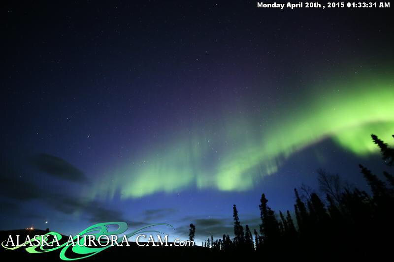 April 19th - Alaska Aurora Cam