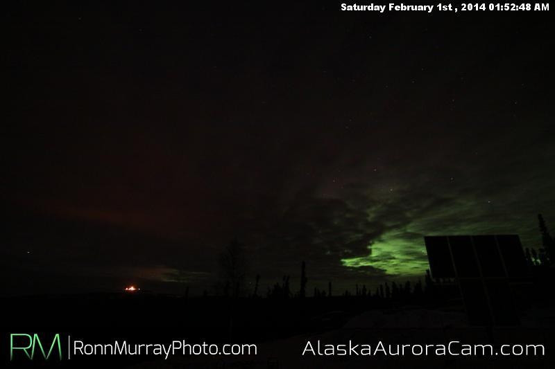 February 1st - Alaska Aurora Cam
