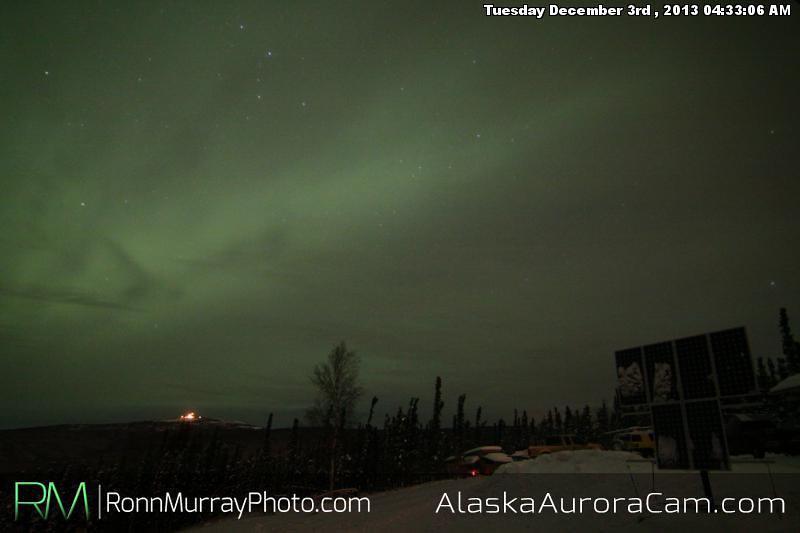 Murky Water - Dec 3rd, Alaska Aurora  Cam