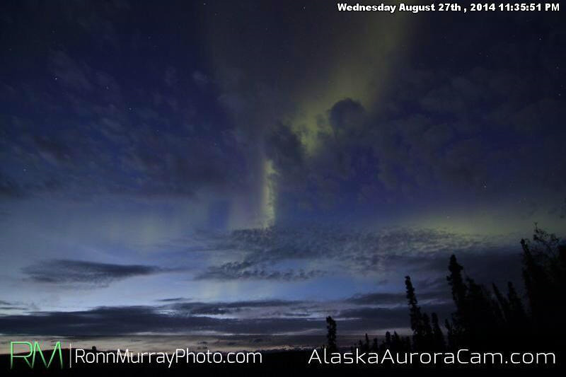 August 27th - Alaska Aurora Cam