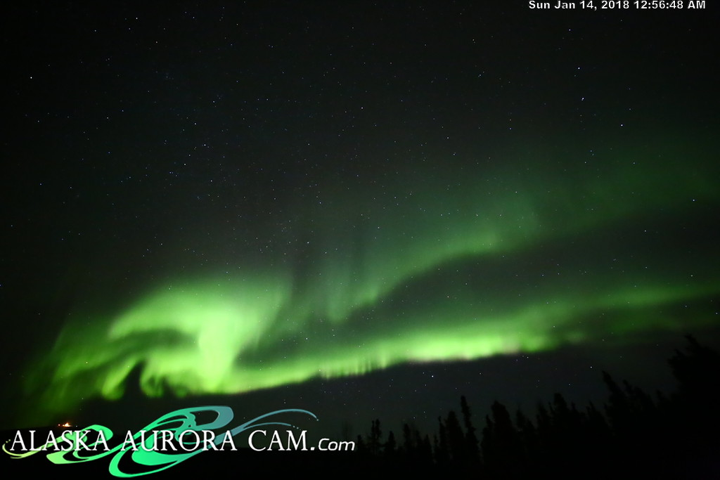 January 13th - Alaska Aurora Cam