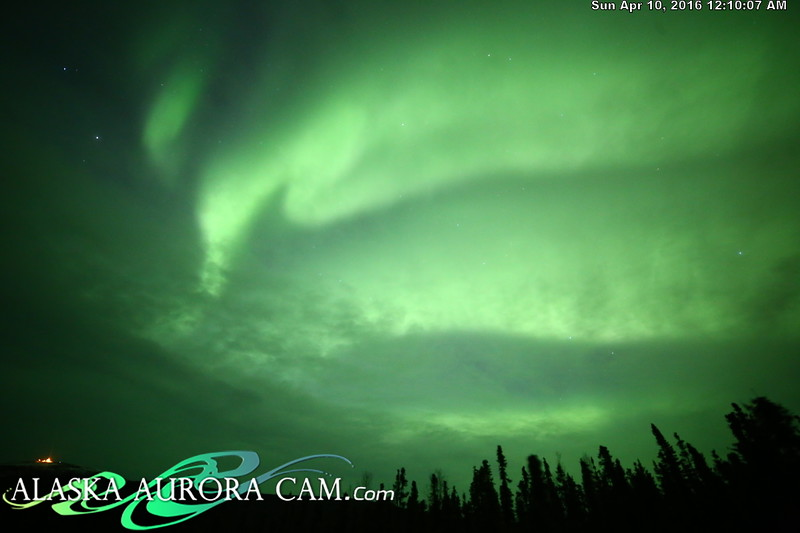 April 9th - Alaska Aurora Cam
