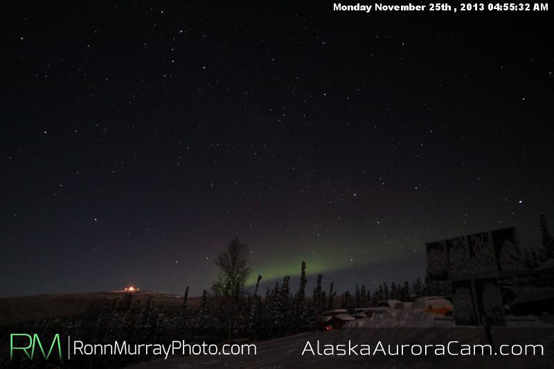 Almost There - Nov 25th, Alaska Aurora Cam