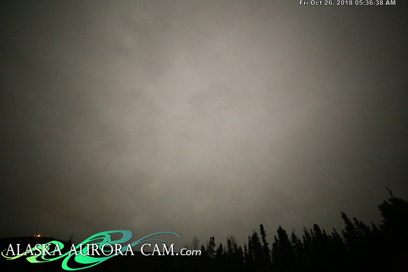 October 25th - Alaska Aurora Cam