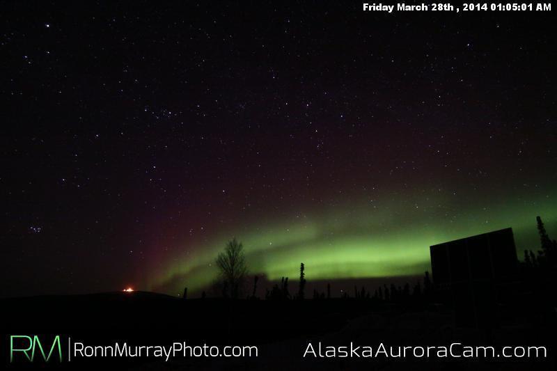 March 28th - Alaska Aurora Cam