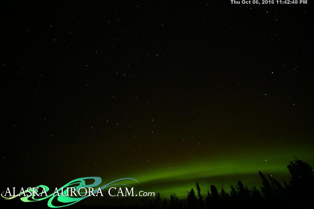 October 6th - Alaska Aurora Cam